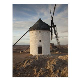 Consuegra, antique La Mancha windmills 7 Postcard