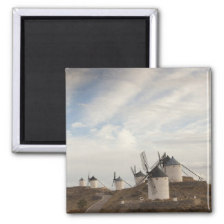 Consuegra, antique La Mancha windmills Magnet