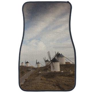 Consuegra, antique La Mancha windmills Floor Mat