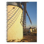 Consuegra, La Mancha, España, molinoes de viento y Libretas Espirales