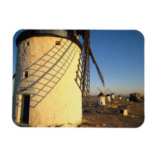 Consuegra, La Mancha, España, molinoes de viento y Imán