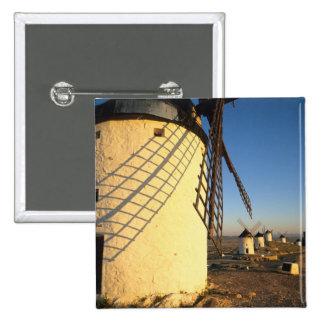 Consuegra, La Mancha, España, molinoes de viento y Pins