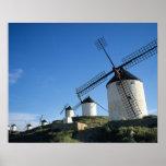 Consuegra, La Mancha, Spain, windmills 2 Poster