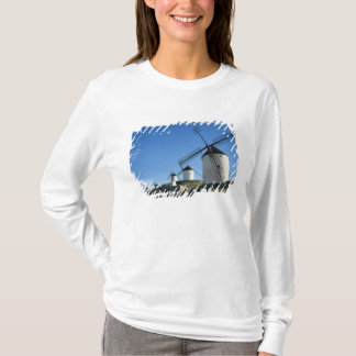 Consuegra, La Mancha, Spain, windmills 2 T-Shirt