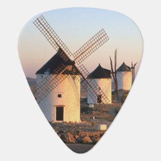 Consuegra, La Mancha, Spain, windmills Guitar Pick