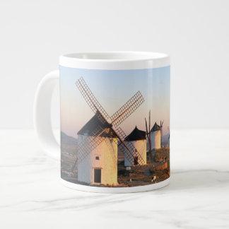 Consuegra, La Mancha, Spain, windmills Large Coffee Mug