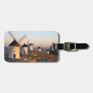 Consuegra, La Mancha, Spain, windmills Luggage Tag