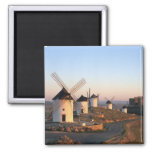 Consuegra, La Mancha, Spain, windmills Refrigerator Magnets