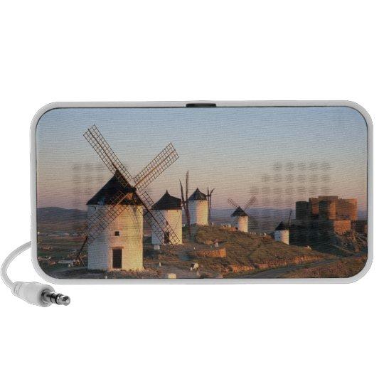 Consuegra, La Mancha, Spain, windmills Mini Speaker