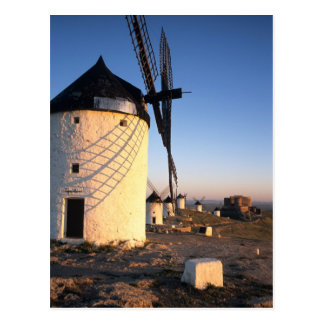 Consuegra, La Mancha, Spain, windmills Postcard