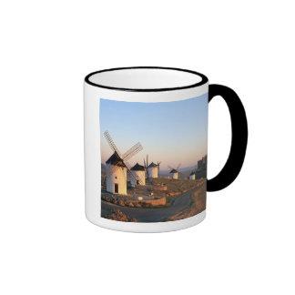 Consuegra, La Mancha, Spain, windmills Ringer Mug