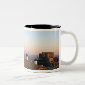 Consuegra, La Mancha, Spain, windmills Two-Tone Coffee Mug