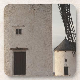 Consuegra, molinoes de viento antiguos 2 de Mancha Posavasos De Bebida