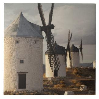 Consuegra, molinoes de viento antiguos 6 de Mancha Azulejo
