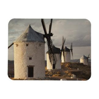 Consuegra, molinoes de viento antiguos 6 de Mancha Iman Rectangular