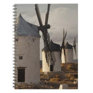 Consuegra, molinoes de viento antiguos 6 de Mancha Libros De Apuntes