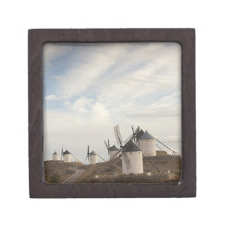 Consuegra, molinoes de viento antiguos de Mancha d Caja De Recuerdo De Calidad