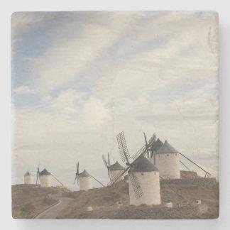 Consuegra, molinoes de viento antiguos de Mancha Posavasos De Piedra