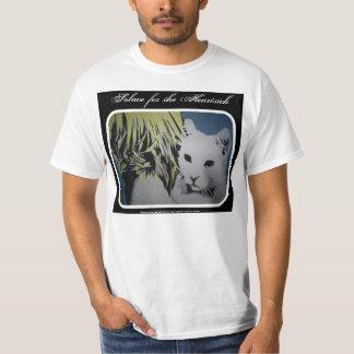 """""""Consuelo para"""" el gato dolorido, camisa del valor"""