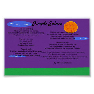 Consuelo púrpura póster