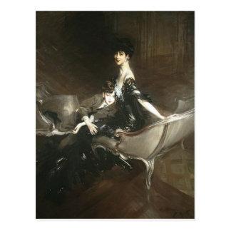 Consuelo Vanderbilt e hijo Ivor, Juan Boldini Tarjetas Postales