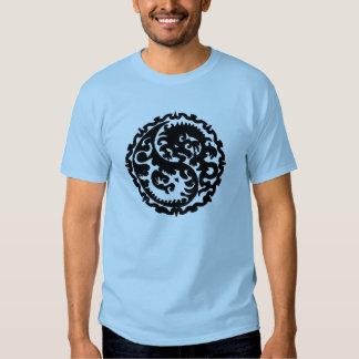 Consuelo Yin Yang del dragón Camisas