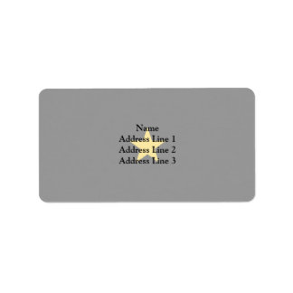 Consul General Of The Mvsn, Italy flag Personalized Address Label