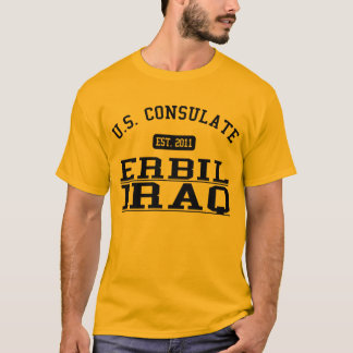 Consulado general Erbil, Iraq Playera