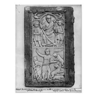 Consular diptych of Aetius, left hand panel Posters