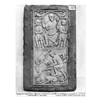 Consular diptych of Aetius, right hand panel Postcard