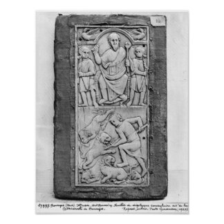 Consular diptych of Aetius, right hand panel Poster