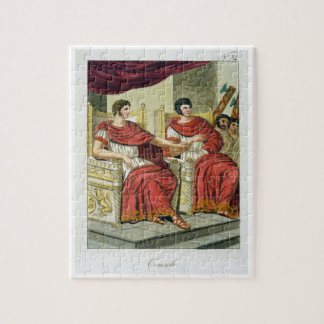 "Cónsules romanos, de ""L'Antica Roma"", 1825 (color Rompecabeza"