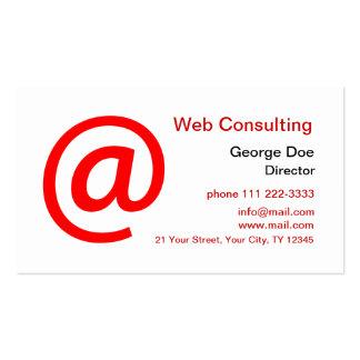 Consulta del Web Tarjetas De Visita