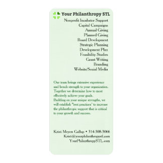 Consultant Brochure Skinny Card