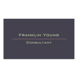 Consultant Double-Sided Standard Business Cards (Pack Of 100)