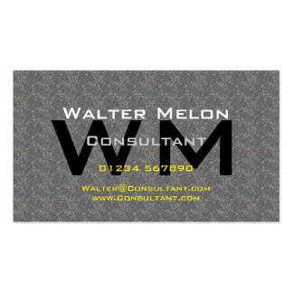Consultant Create your Own Business Card