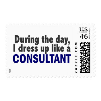 Consultant During The Day Postage Stamps