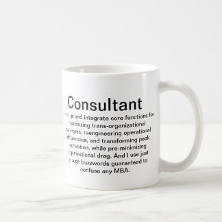 Consultant Explanation Cup Mug