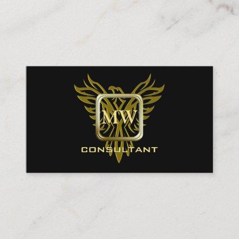 Consultant, Golden Square, Rising Phoenix Business Card