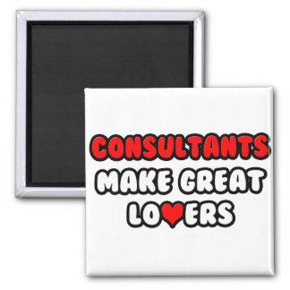 Consultants Make Great Lovers Fridge Magnet