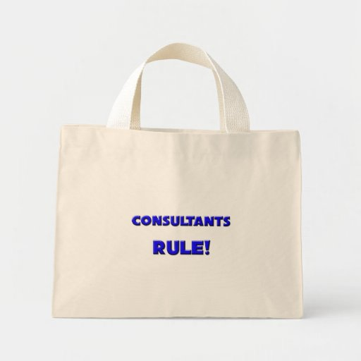 Consultants Rule! Canvas Bags