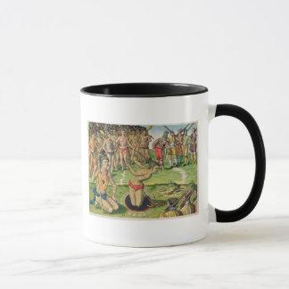 Consulting a Sorcerer, from 'Brevis Narratio' Mug