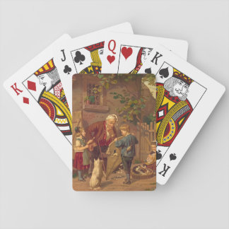 Consulting Grandfather 1871 Playing Cards