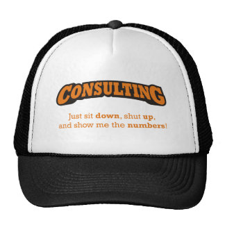 Consulting-Numbers Trucker Hat