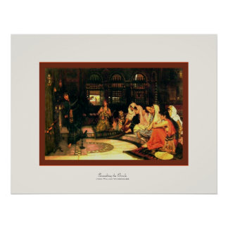 Consulting the Oracle ~ John William Waterhouse Posters