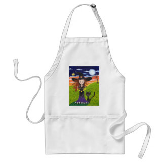 Consulting the Stars Adult Apron