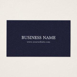 Consultor azul texturizado elegante minimalista tarjeta de negocios