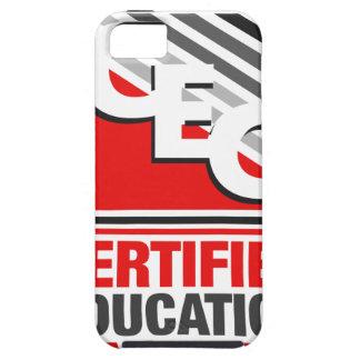 Consultor certificado de la educación funda para iPhone 5 tough