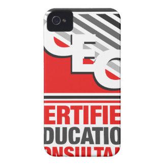 Consultor certificado de la educación iPhone 4 cárcasas