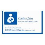 Consultor de la lactancia tarjeta de visita